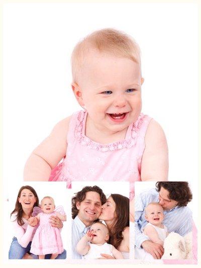 Tolle Fotocollage aus Babyfotos als Erinnerung